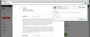 Webclipper no Gmail